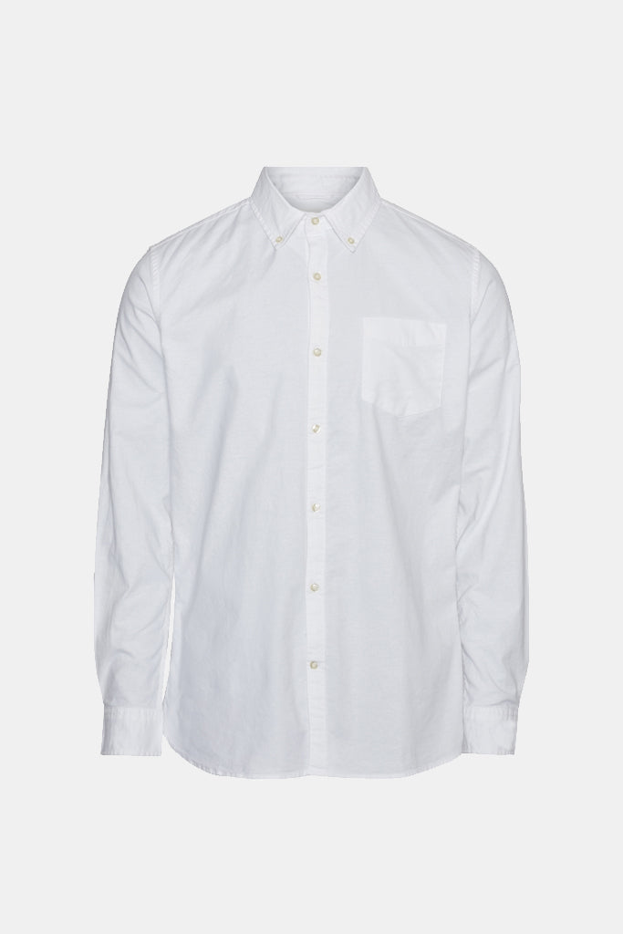 OXFORD SHIRT ORGANIC STRETCH WHITE