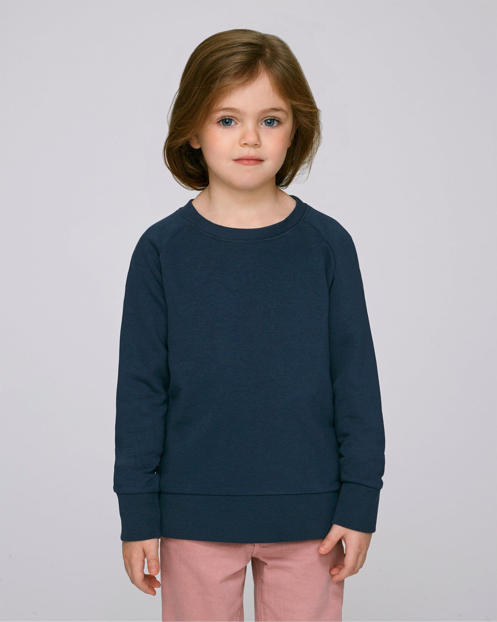 Kids Organic Sweatshirt Navy