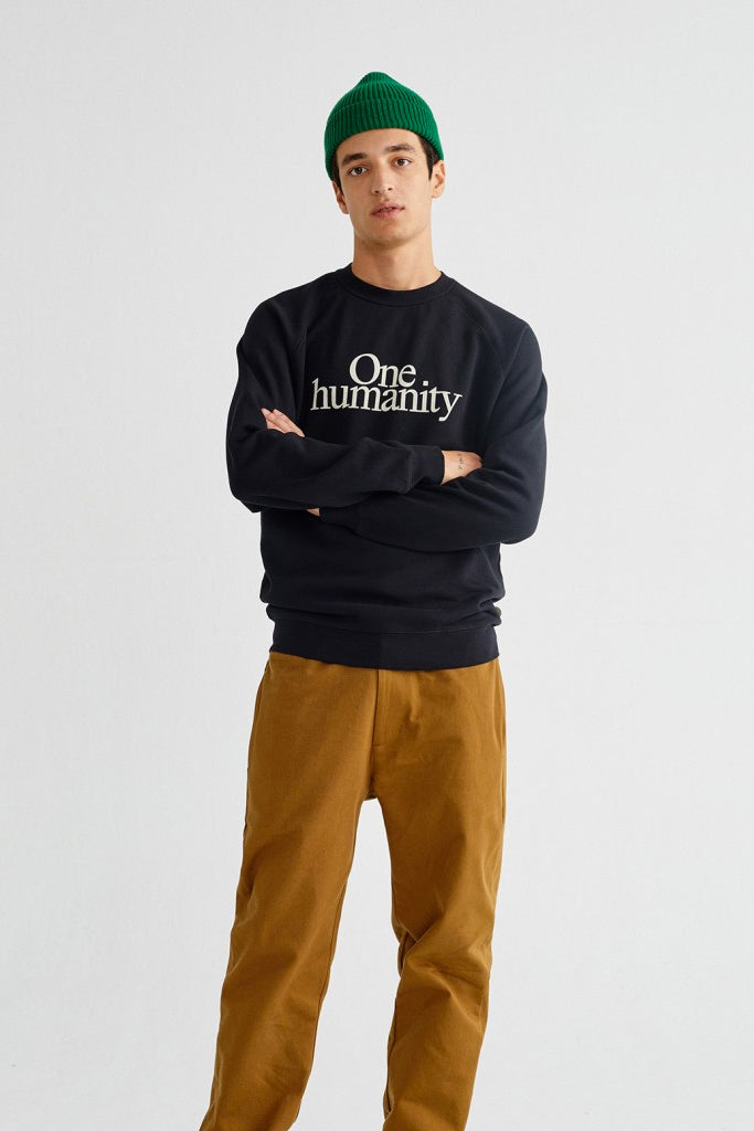 ONE HUMANITY ORGANIC SWEATSHIRT