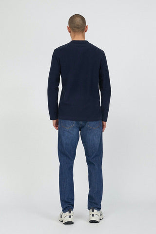 TEXTURED ORGANIC LONG SLEEVE