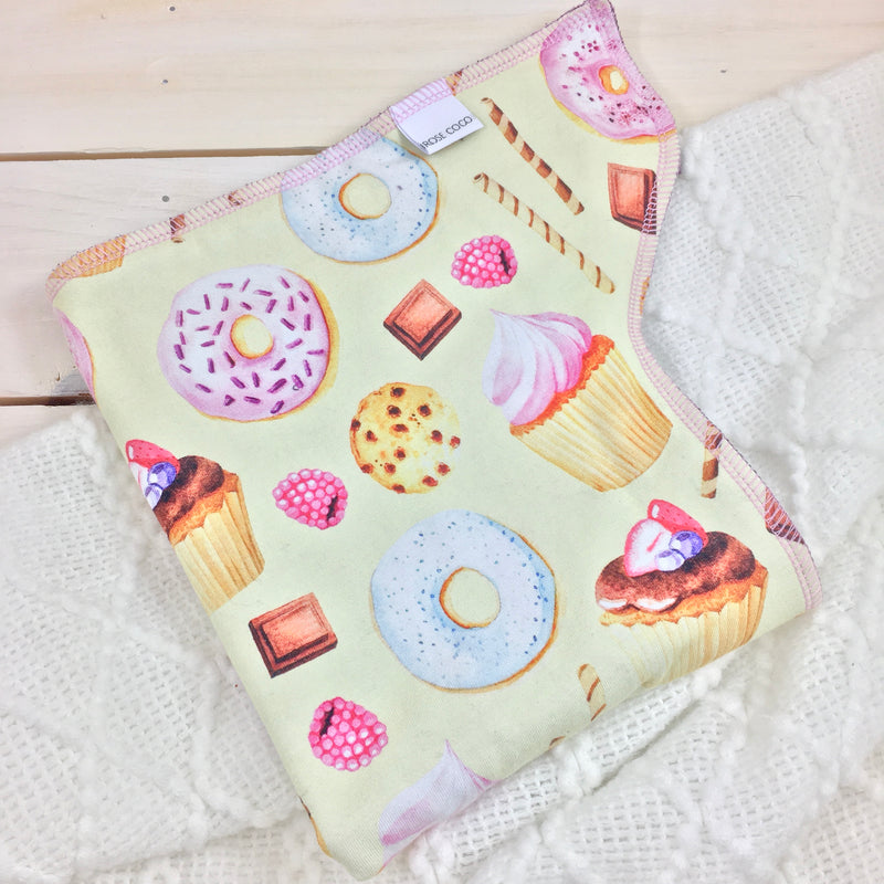 Couche préplate «Miss Cupcake»