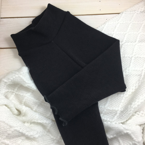 Leggings Bumby « Black » (Ruffled)