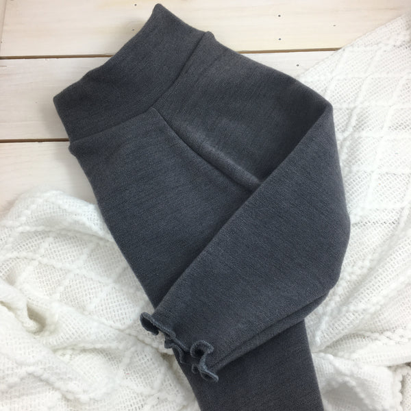 Leggings Bumby « Dark charcoal » (Ruffled)
