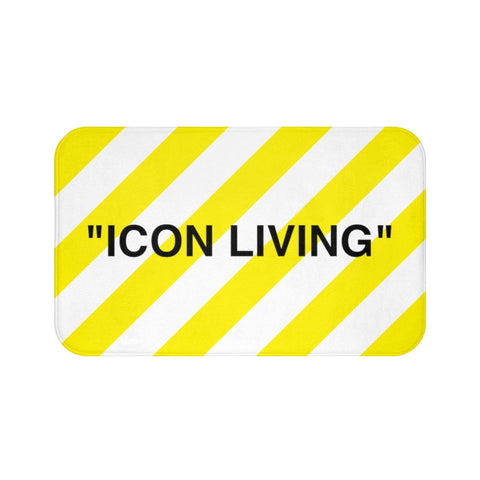 Icon Living Bath Mat - Kuratify - Hype Streetwear
