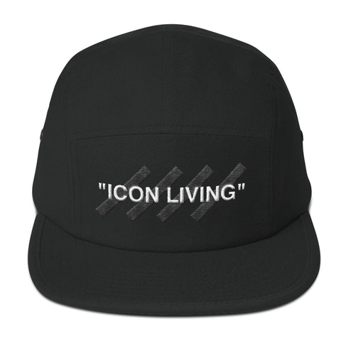 Icon Living 5-Panel Camper Hat - Kuratify - Hype Streetwear