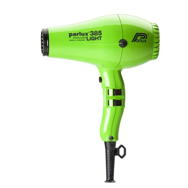 Parlux 385 Powerlight Ceramic & Ionic Dryer 2150W - Green