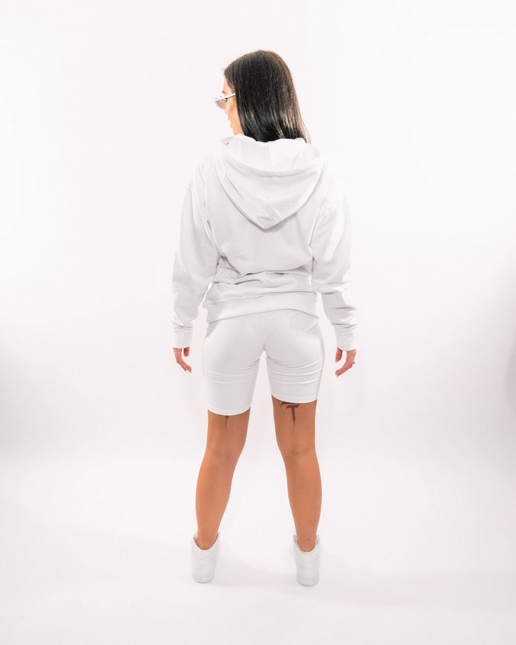 High Voltage Hoody (White)