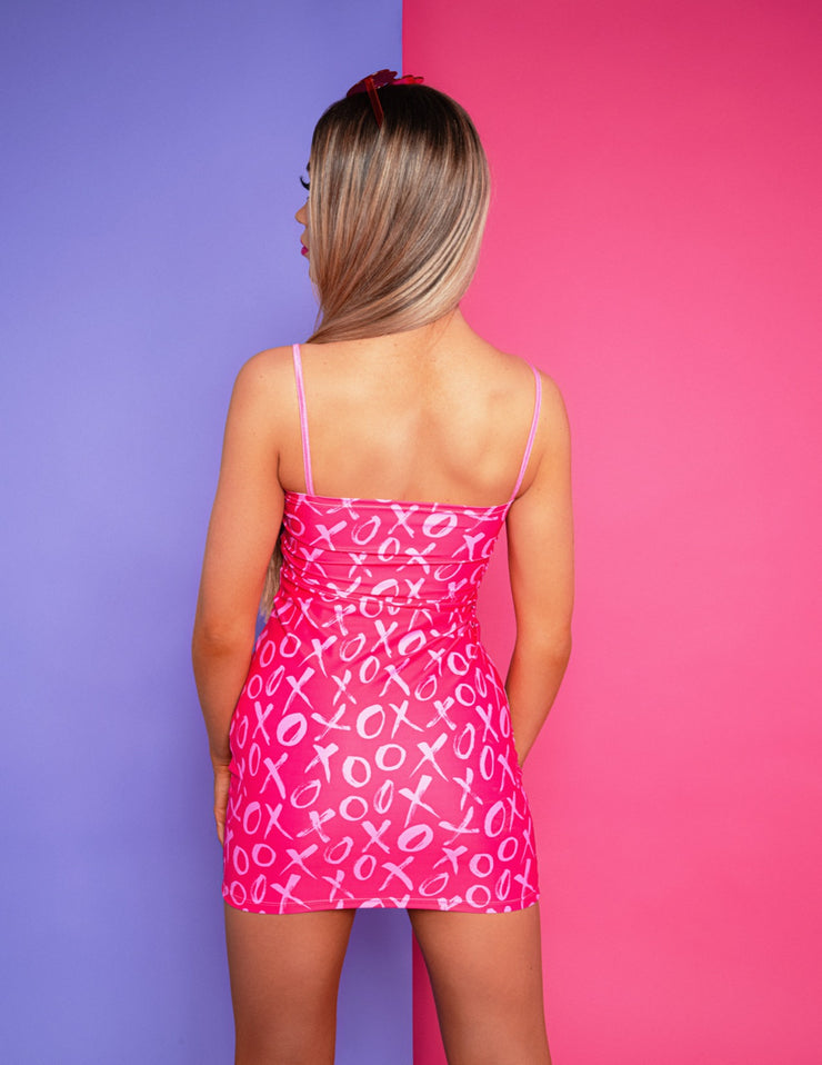 xo pink suxceed womens festival rave dress