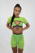 Lime Mesh Super Crop