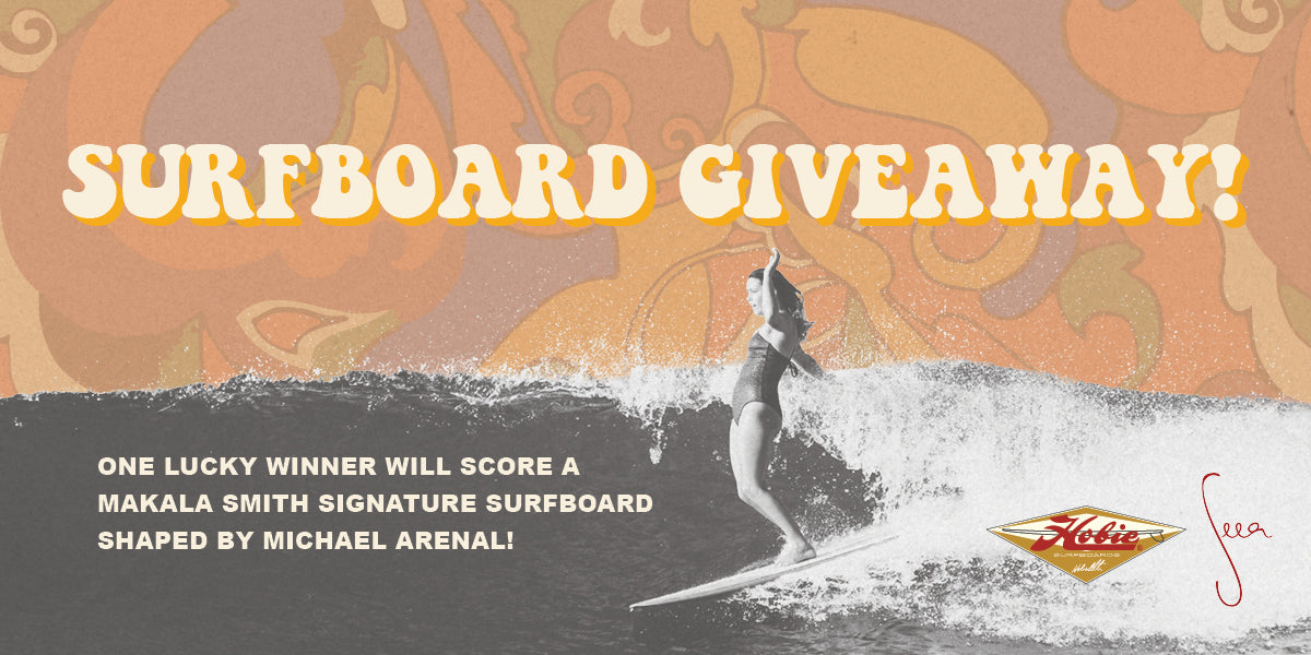 Surfboard Giveaway