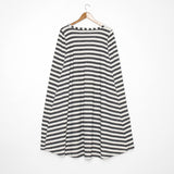 Seea Changing Cape - Black Stripe