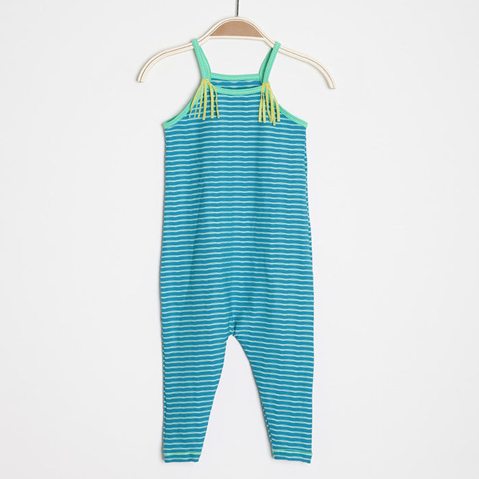 Chimi Kids Jumpsuit - Blue Tide