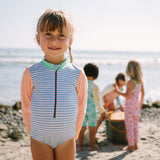 Sandpiper Kids Bodysuit - Chambray