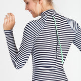 Gaviotas Surf Suit - Black Stripe