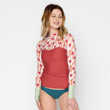 Hermosa Swim Shirt - Tulip