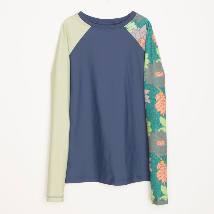 Doheny Rashguard-Girls-Mirage