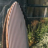 Shortboard Cover - Brown Stripe