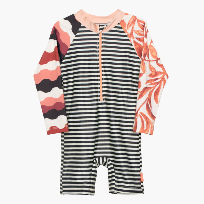 Swamini Kids Sunsuit - Kelp