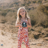Chimi Kids Jumpsuit - Kelp
