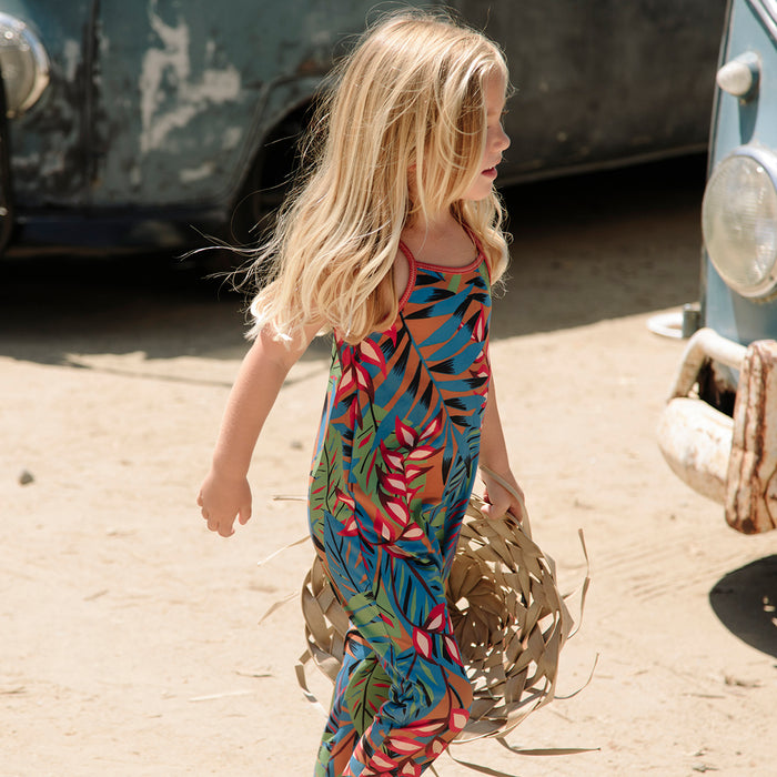 Chimi Kids Jumpsuit - Tropicalia