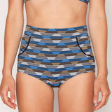 Georgia High Waist Bikini Bottom - Vera