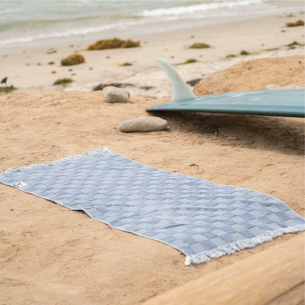 Towel - Recycled Denim