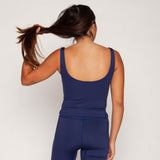 Jamie Swim Tank - Parisian Blue