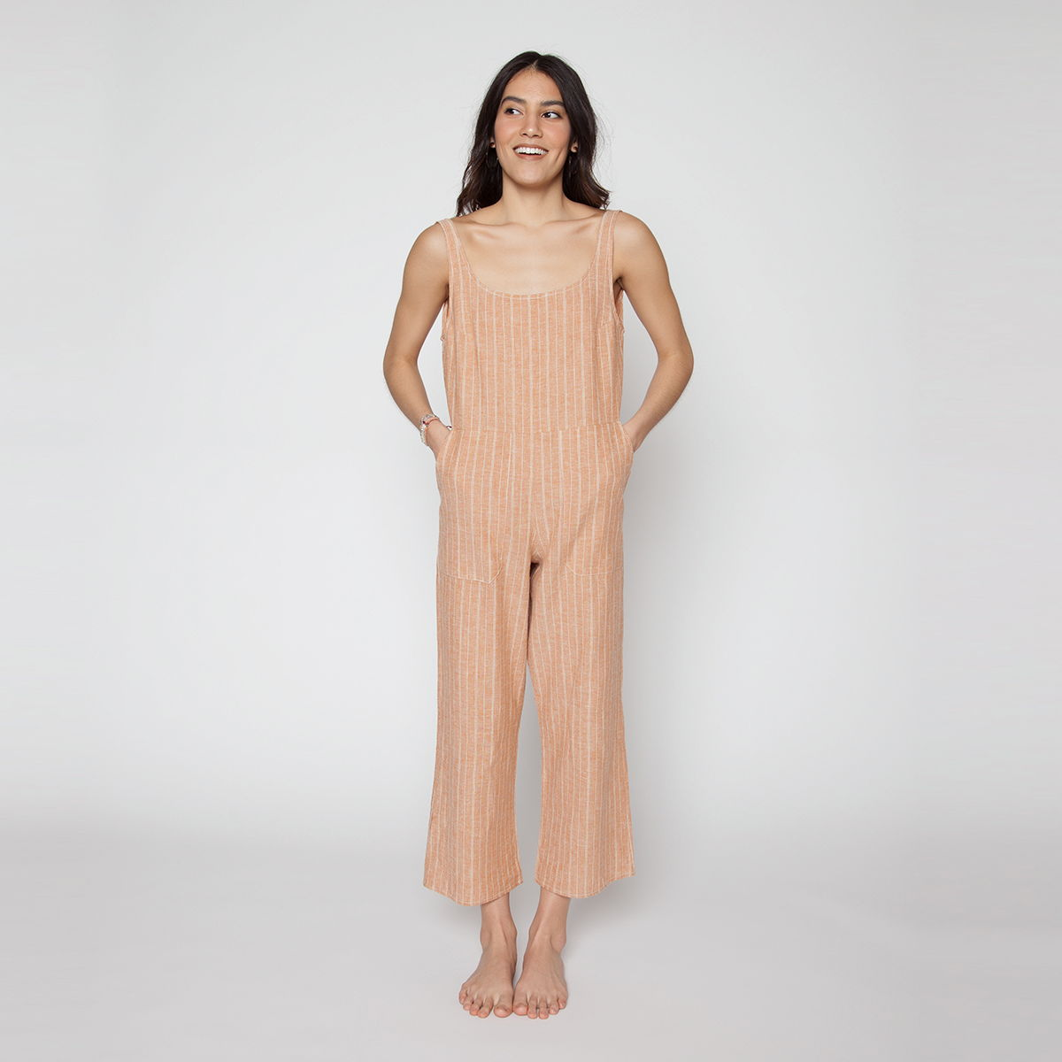 Billie Jumpsuit - Turmeric