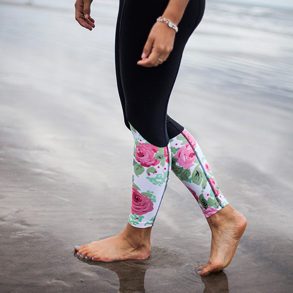 Calafia Surf Leggings - Vintage Rose
