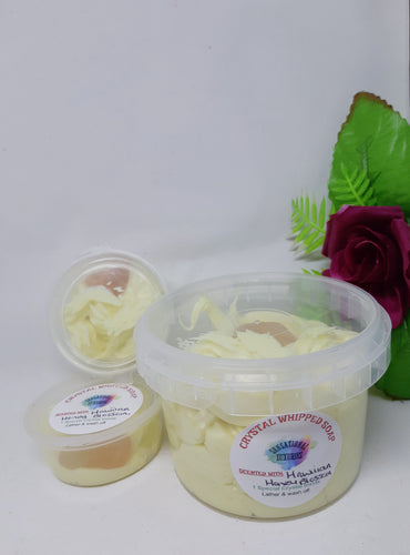 Crystal Whipped Soap - Citrine Tumble.