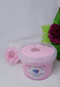 Crystal Whipped Soap - Rose Quartz Tumble.