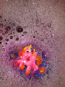 Unicorn Ring Bath Bomb.
