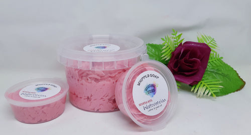 Watermelon Lollipop Scented - Whipped Soap.