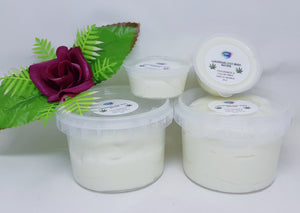 Luxurious Body Butter with HEMP.