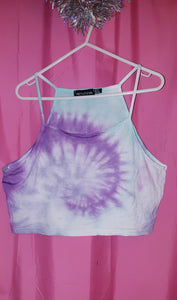 Tie Dyed Crop Tops.
