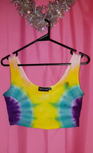 Load image into Gallery viewer, Tie Dyed Crop Tops.