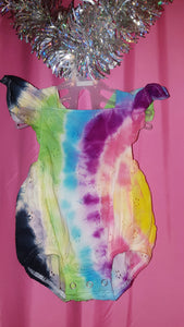 Tie Dyed Babies Clothes - Size 0000.