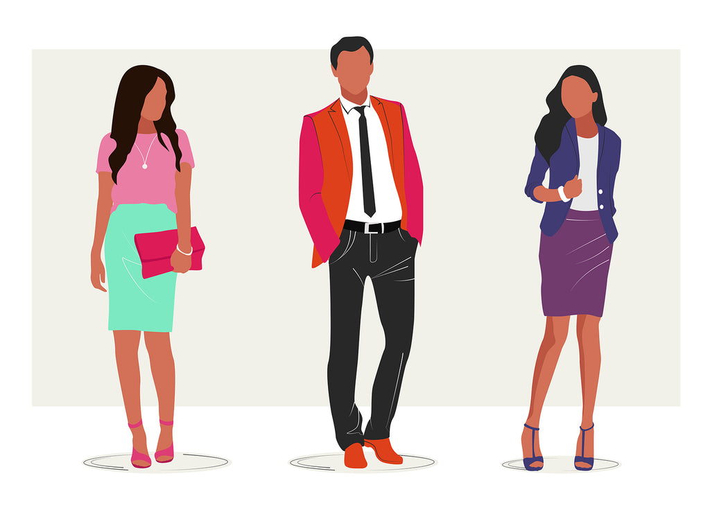 business people vector free