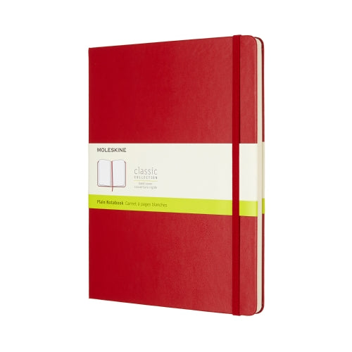 Moleskine Pocket Plain Hardcover Notebook Red