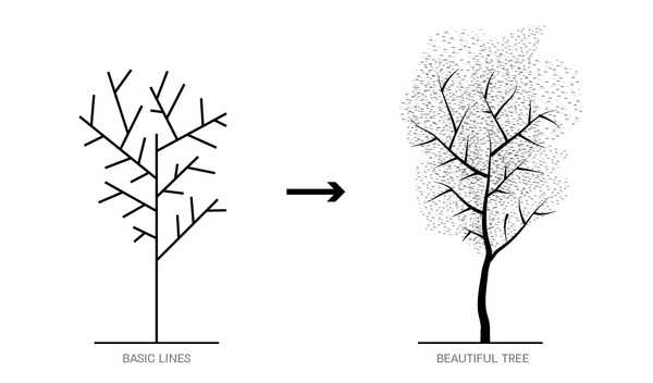 Vector tree free tutorial