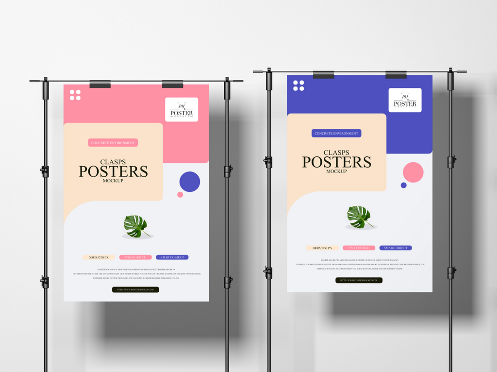 clasps poster mockup