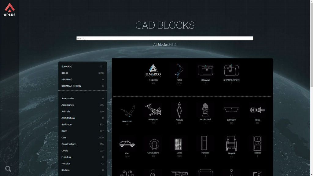 furniture autocad blocks