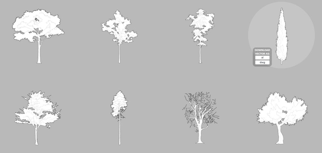 vector trees free