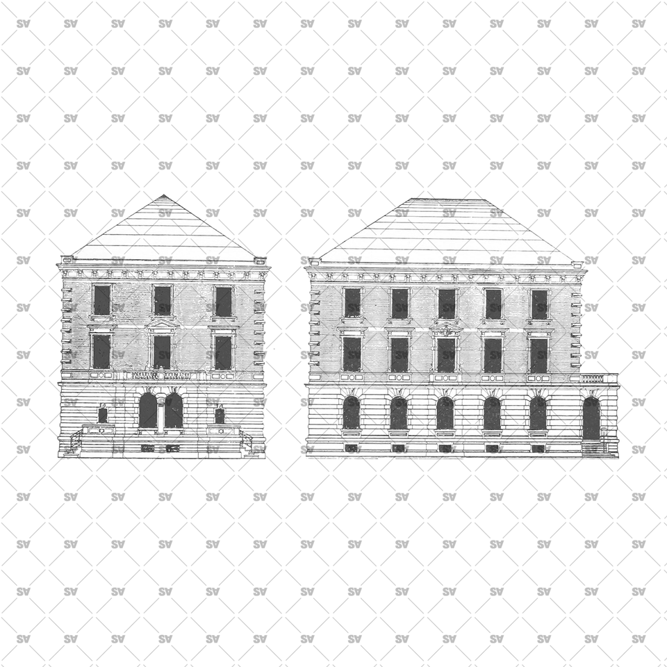 ancient facade buildings png