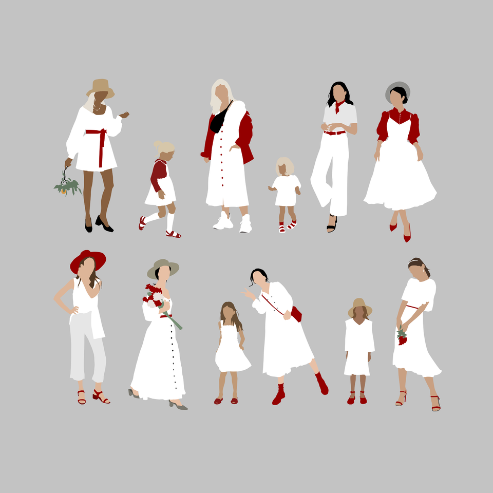Belarus Women in White