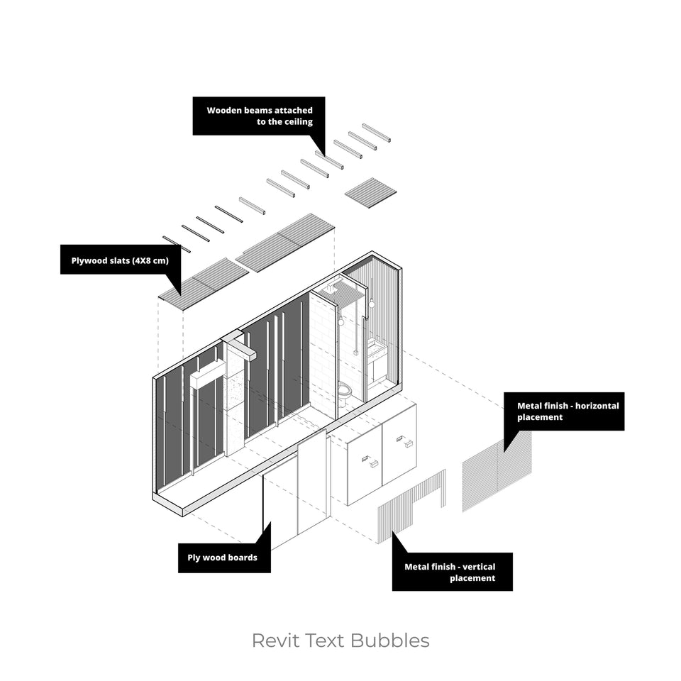 Revit Parametric Text Bubbles