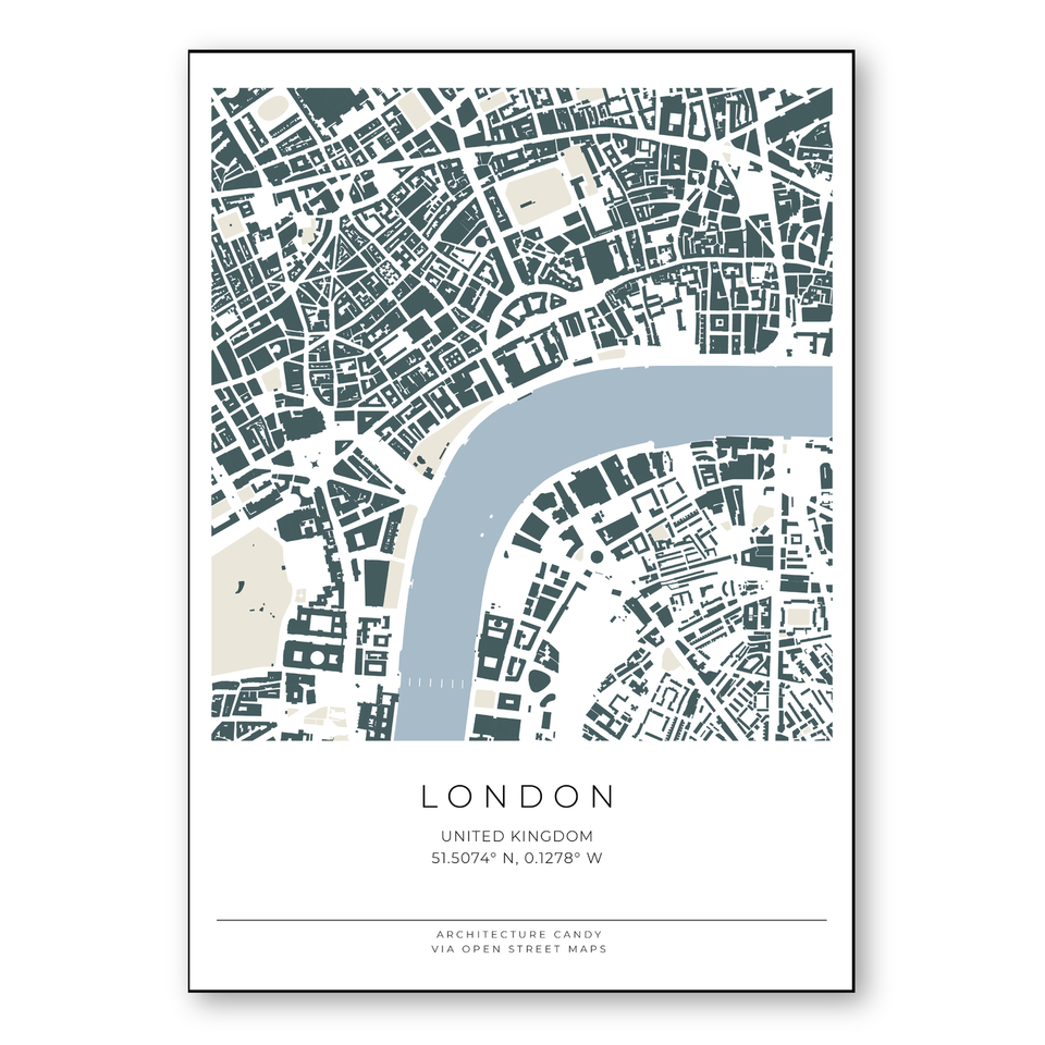 london vector map download