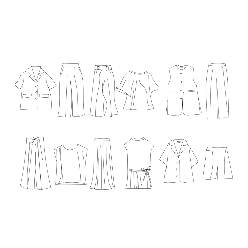 vector clothes