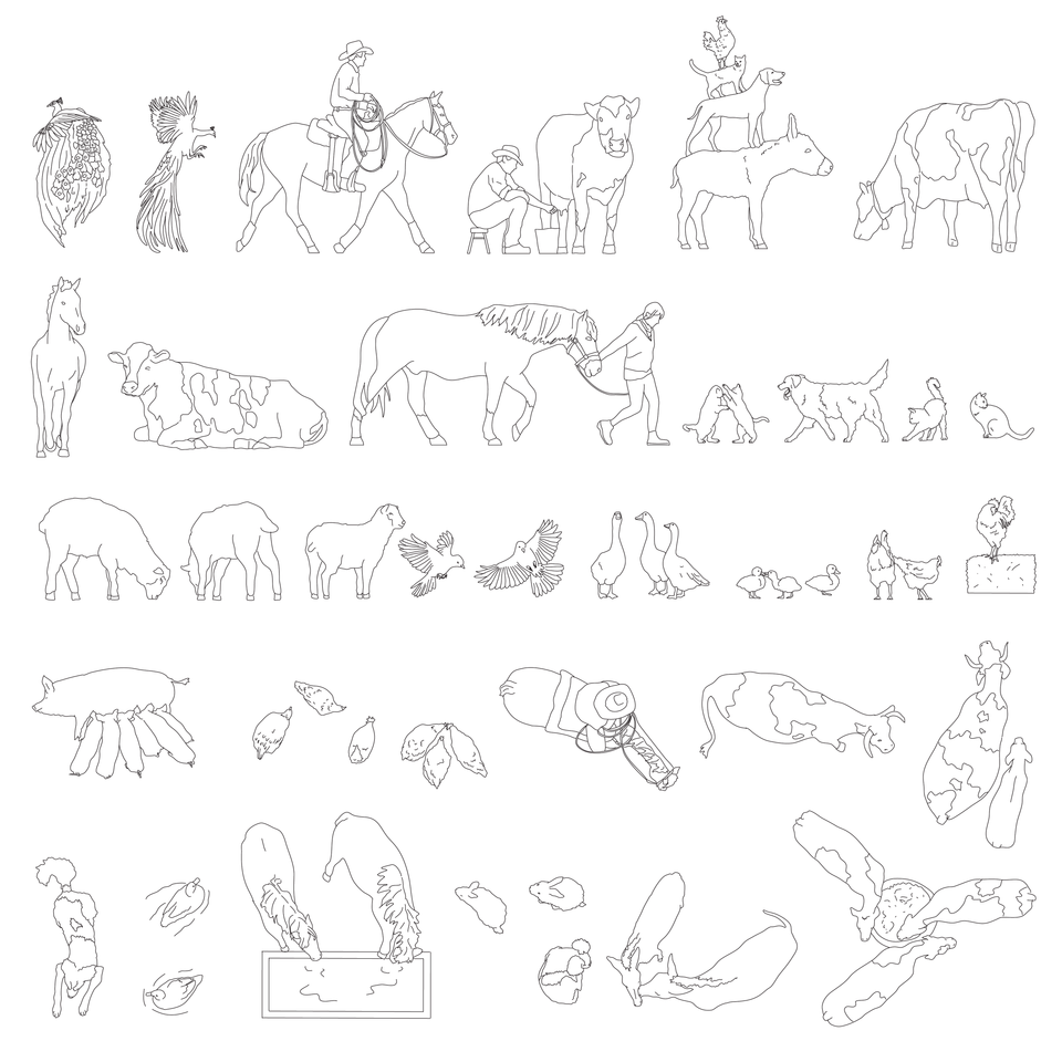cad animals