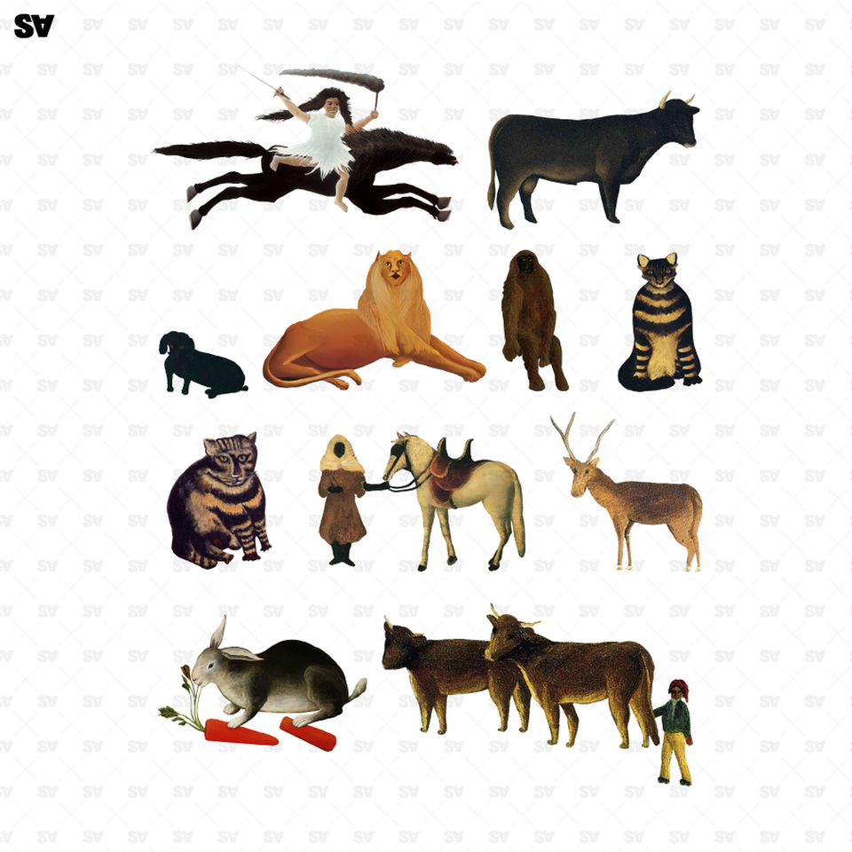 animals cutouts
